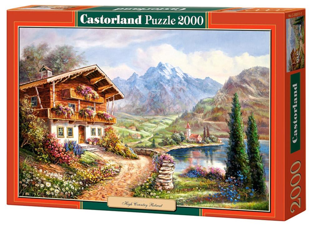 Castorland Пазл Дом в горахC-200511Пазлы Castorland это - высокий уровень полиграфии, четкие и красочные цвета, продуманные иллюстрации, уникальность формы каждой детали, разнообразие тематик