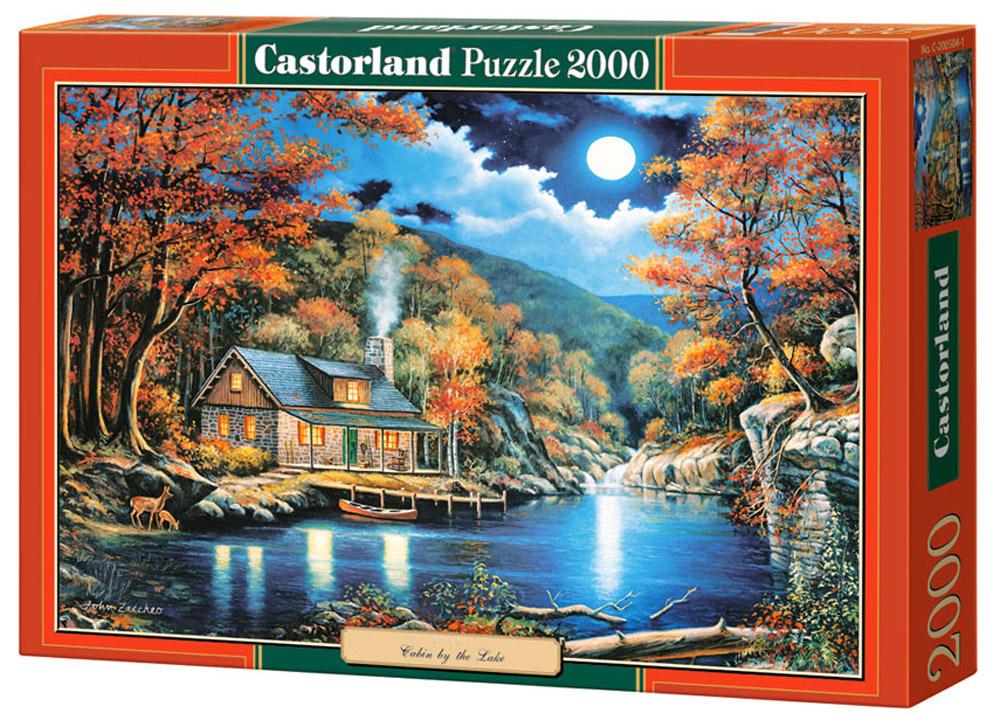 Castorland Пазл Домик на озереC-200504Пазлы Castorland это - высокий уровень полиграфии, четкие и красочные цвета, продуманные иллюстрации, уникальность формы каждой детали, разнообразие тематик