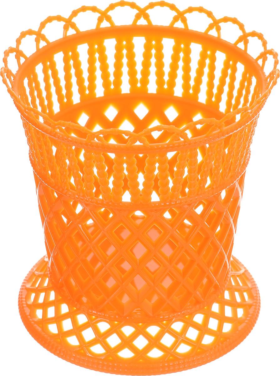 Подставка под столовые приборы Альтернатива Семь злаков, цвет: оранжевыйM1303