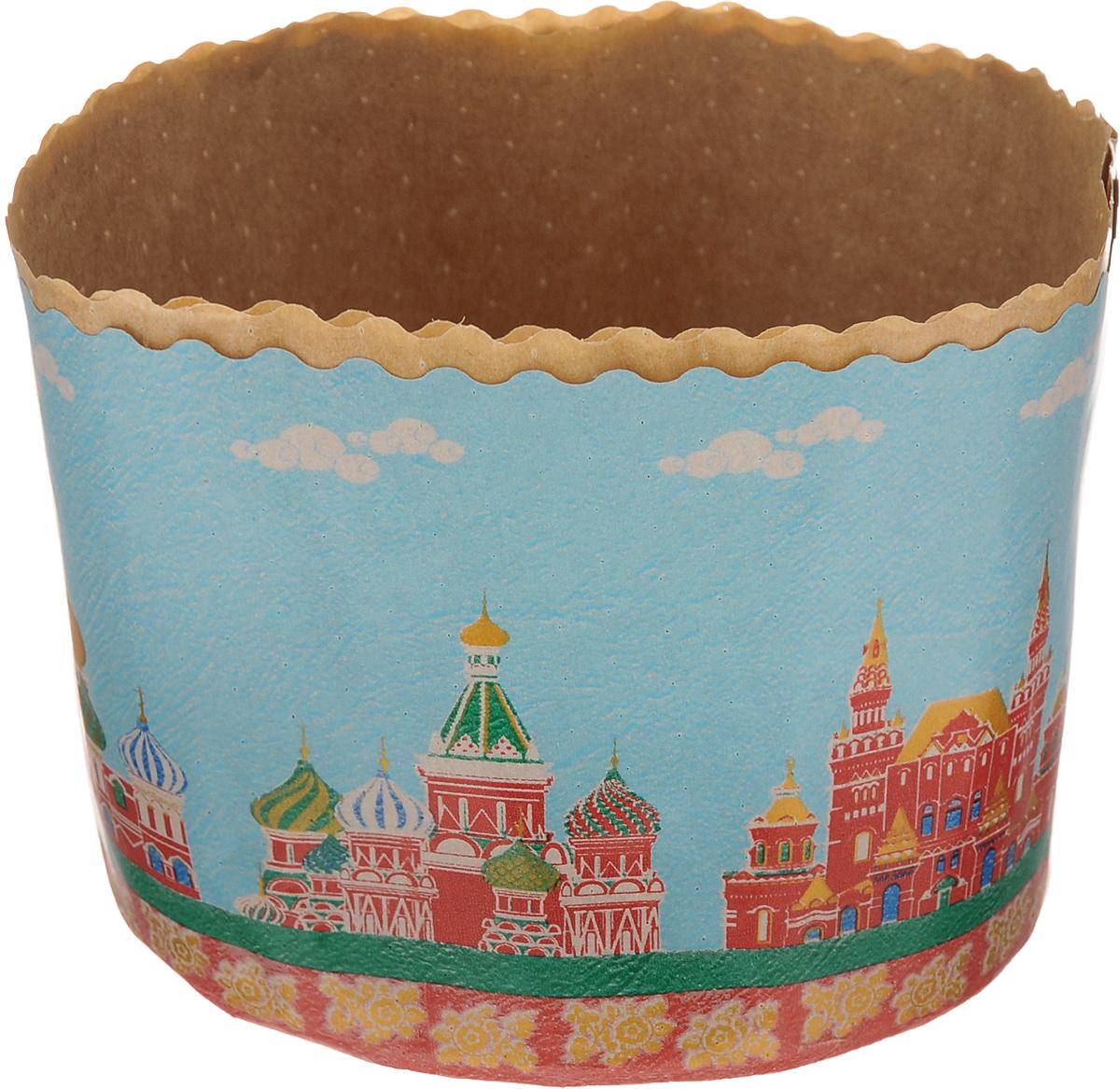 Набор форм для выпечки куличей Marmiton Пасхальный, цвет: голубой, красный, 1 л, 3 шт11349_голубой, красный