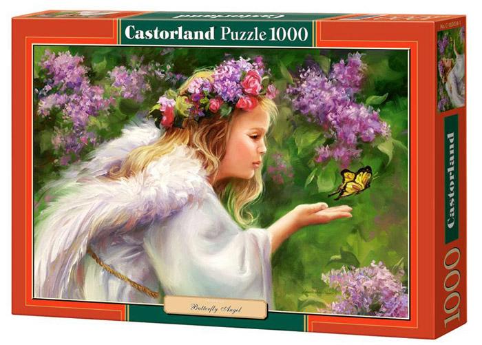 Castorland Пазл Бабочка и АнгелC-103034Пазлы Castorland это - высокий уровень полиграфии, четкие и красочные цвета, продуманные иллюстрации, уникальность формы каждой детали, разнообразие тематик