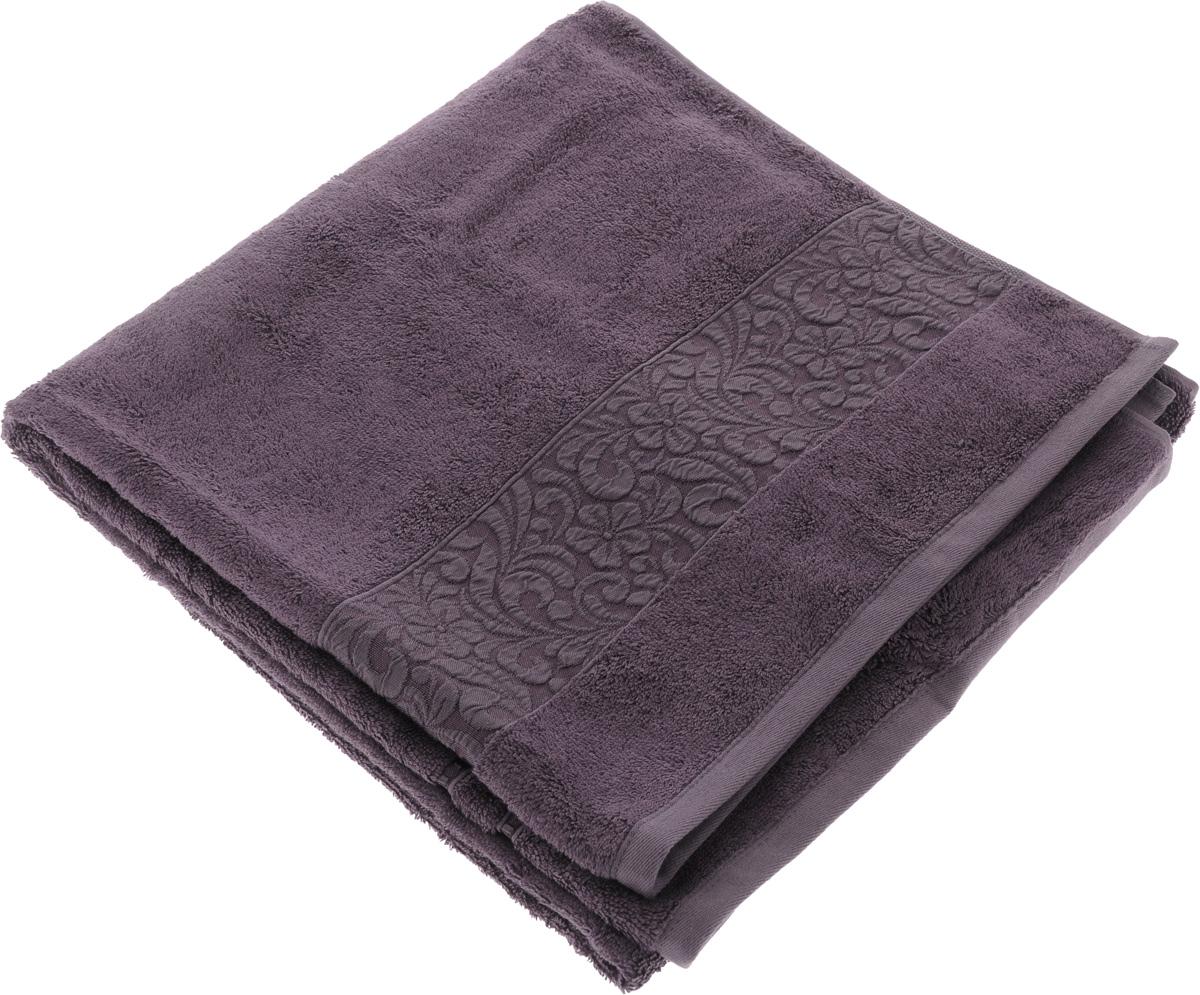Полотенце бамбуковое Issimo Home Valencia, цвет: пурпурный, 70 x 140 см4793Полотенце Issimo Home Valencia выполнено из 60% бамбукового волокна и 40% хлопка. Таким полотенцем не нужно вытираться - только коснитесь кожи - и ткань сама все впитает. Такая ткань впитывает в 3 раза лучше, чем хлопок. Несмотря на высокую плотность, полотенце быстро сохнет, остается легкими даже при намокании. Изделие имеет красивый жаккардовый бордюр, оформленный цветочным орнаментом. Благородные, классические тона создадут уют и подчеркнут лучшие качества махровой ткани, а сочные, яркие, летние оттенки создадут ощущение праздника и наполнят дом энергией. Красивая, стильная упаковка этого полотенца делает его уже готовым подарком к любому случаю.
