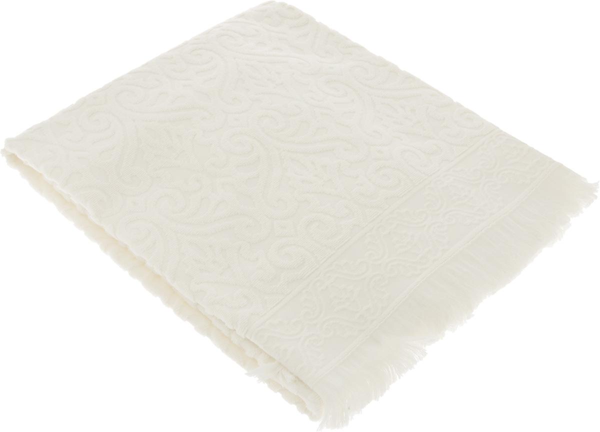 Полотенце махровое Issimo Home Tarren, цвет: экрю, 50 x 90 см4963Полотенце Issimo Home Tarren выполнено из 100% хлопка с махровым рельефным узором. Изделие отлично впитывает влагу, быстро сохнет и не теряет форму даже после многократных стирок. Рекомендации по уходу: - режим стирки при 40°C, - допускается обычная химчистка, - отбеливание запрещено, - глажка при температуре подошвы утюга до 110°С, - барабанный отжим запрещен. Размер полотенца: 50 х 90 см.