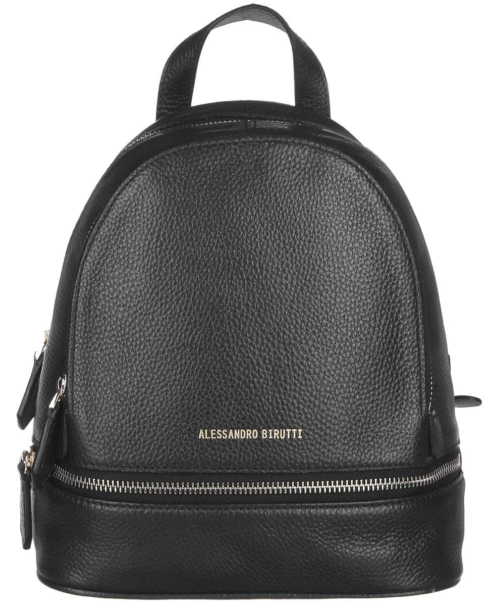 Рюкзак женский Alessandro Birutti, цвет: черный. 13-191-1