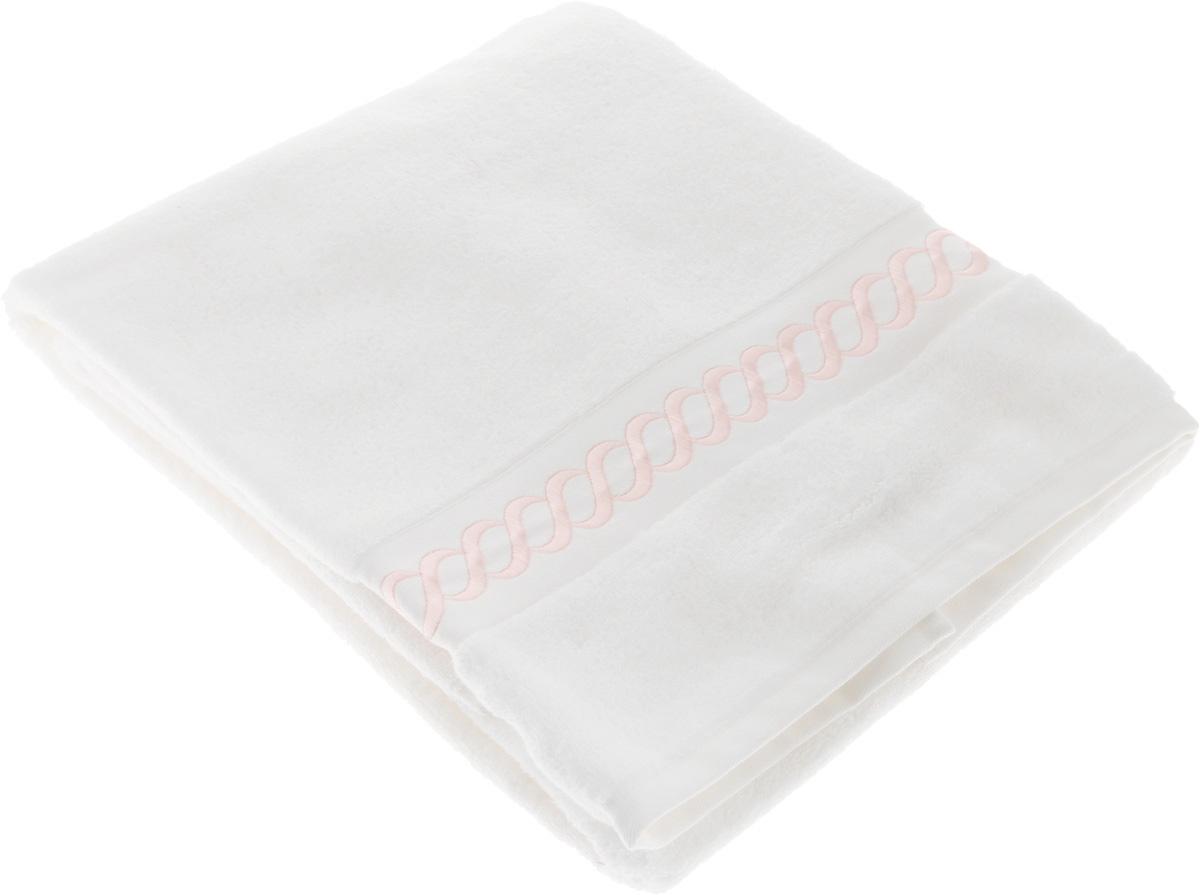 Полотенце махровое Issimo Home Pauline, цвет: белый, розовый, 70 x 140 см4725Полотенце Issimo Home Pauline выполнено из натуральной махровой ткани (100% хлопок). Изделие отлично впитывает влагу, быстро сохнет и не теряет форму даже после многократных стирок. Рекомендации по уходу: - режим стирки при 40°C, - допускается обычная химчистка, - отбеливание запрещено, - глажка при температуре подошвы утюга до 110°С, - барабанный отжим запрещен. Размер полотенца: 70 x 140 см.
