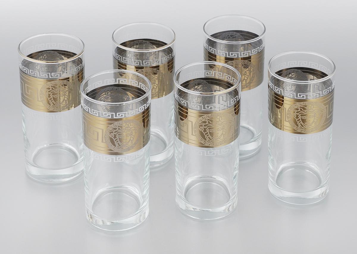 Набор стаканов для сока Мусатов Йети, 290 мл, 6 шт402/41Набор Мусатов Йети состоит из 6 стаканов, изготовленных из высококачественного натрий-кальций-силикатного стекла. Изделия оформлены красивой широкой окантовкой с оригинальным орнаментом. Стаканы предназначены для подачи сока, а также воды и коктейлей. Такой набор прекрасно дополнит праздничный стол и станет желанным подарком в любом доме. Разрешается мыть в посудомоечной машине. Диаметр стакана (по верхнему краю): 6 см. Высота стакана: 13,5 см.