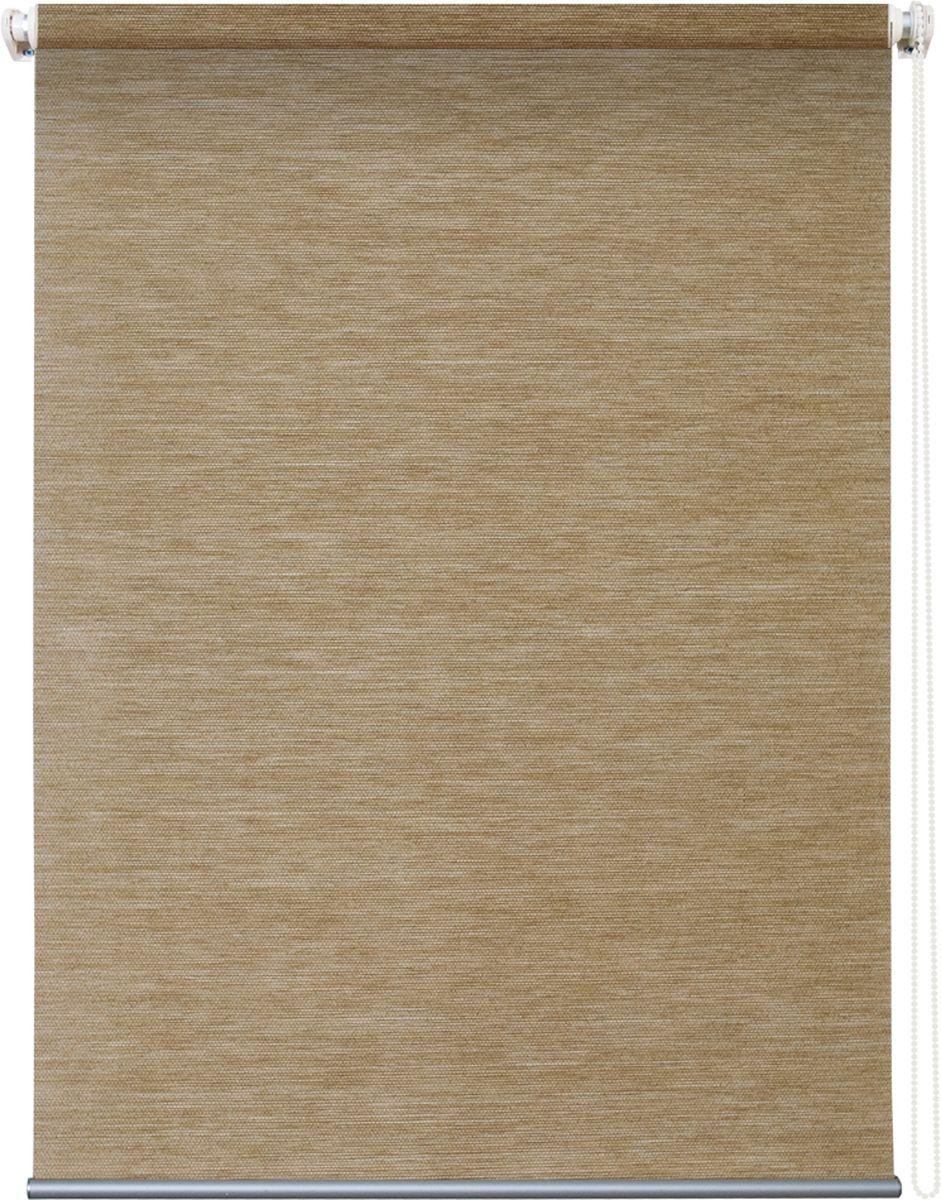 Штора рулонная Уют Концепт, цвет: песочный, 60 х 175 см62.РШТО.8807.060х175Штора рулонная Уют Концепт выполнена из прочного полиэстера с обработкой специальным составом, отталкивающим пыль. Ткань не выцветает, обладает отличной цветоустойчивостью и светонепроницаемостью. Штора закрывает не весь оконный проем, а непосредственно само стекло и может фиксироваться в любом положении. Она быстро убирается и надежно защищает от посторонних взглядов. Компактность помогает сэкономить пространство. Универсальная конструкция позволяет крепить штору на раму без сверления, также можно монтировать на стену, потолок, створки, в проем, ниши, на деревянные или пластиковые рамы. В комплект входят регулируемые установочные кронштейны и набор для боковой фиксации шторы. Возможна установка с управлением цепочкой как справа, так и слева. Изделие при желании можно самостоятельно уменьшить. Такая штора станет прекрасным элементом декора окна и гармонично впишется в интерьер любого помещения.