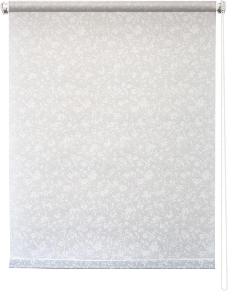 Штора рулонная Уют Лето, цвет: белый, 140 х 175 см62.РШТО.7705.140х175• Защита от посторонних взглядов. • Фиксация в любом положении. • Крепеж: Универсальный (к потолку, к раме, к стене).