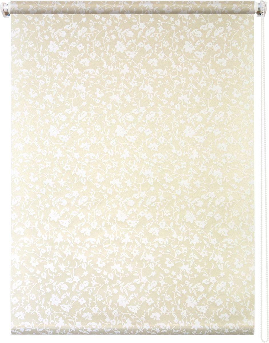 Штора рулонная Уют Лето, цвет: желтый, 140 х 175 см62.РШТО.7706.140х175• Защита от посторонних взглядов. • Фиксация в любом положении. • Крепеж: Универсальный (к потолку, к раме, к стене).