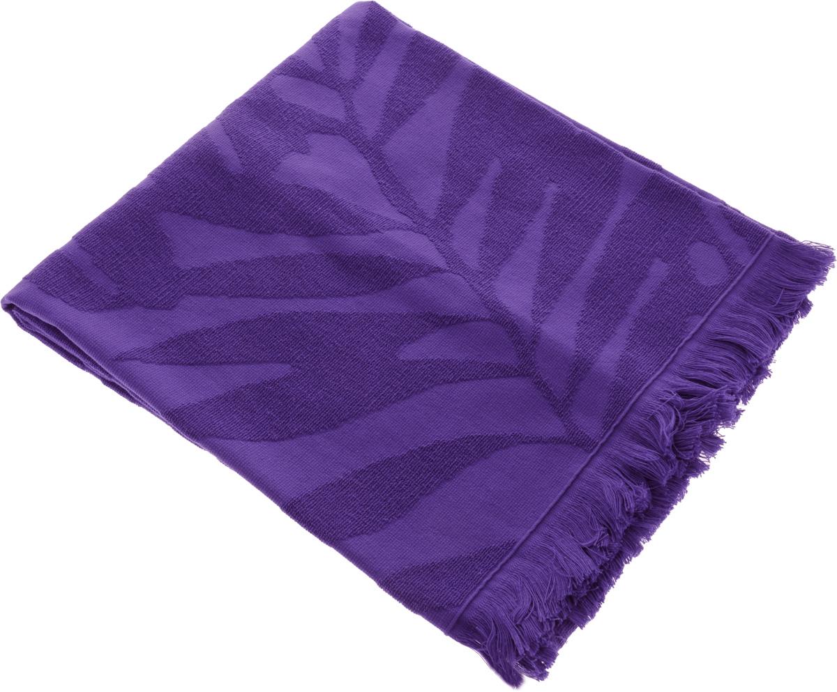 Полотенце Issimo Home Nadia, цвет: фиолетовый, 70 x 140 см4984Полотенце Issimo Home Nadia выполнено из 100% хлопка. Изделие отлично впитывает влагу, быстро сохнет, сохраняет яркость цвета и не теряет форму даже после многократных стирок. Полотенце очень практично и неприхотливо в уходе. Оно прекрасно дополнит интерьер ванной комнаты.
