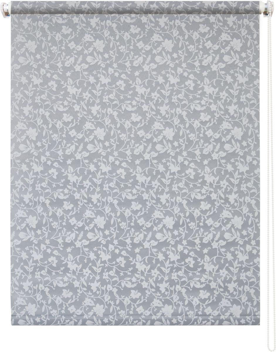 Штора рулонная Уют Лето, цвет: серый, 140 х 175 см62.РШТО.7707.140х175• Защита от посторонних взглядов. • Фиксация в любом положении. • Крепеж: Универсальный (к потолку, к раме, к стене).