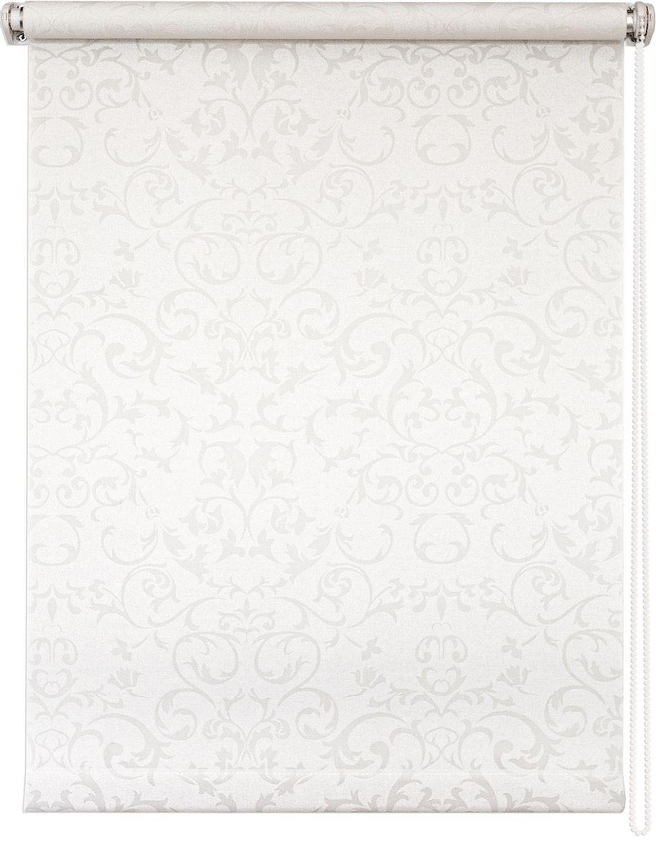 Штора рулонная Уют Дельфы, цвет: белый, 50 х 175 см62.РШТО.8259.050х175• Защита от посторонних взглядов. • Фиксация в любом положении. • Крепеж: Универсальный (к потолку, к раме, к стене).