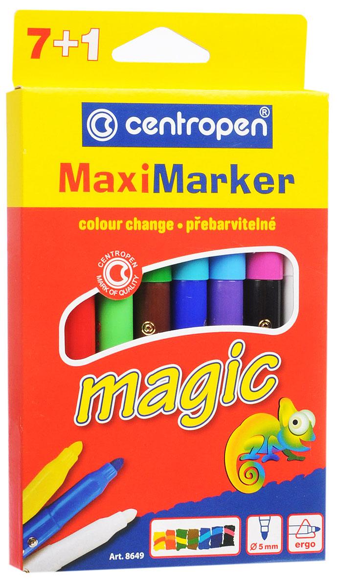Centropen Набор перекрашивающих маркеров Magic 7 цветов