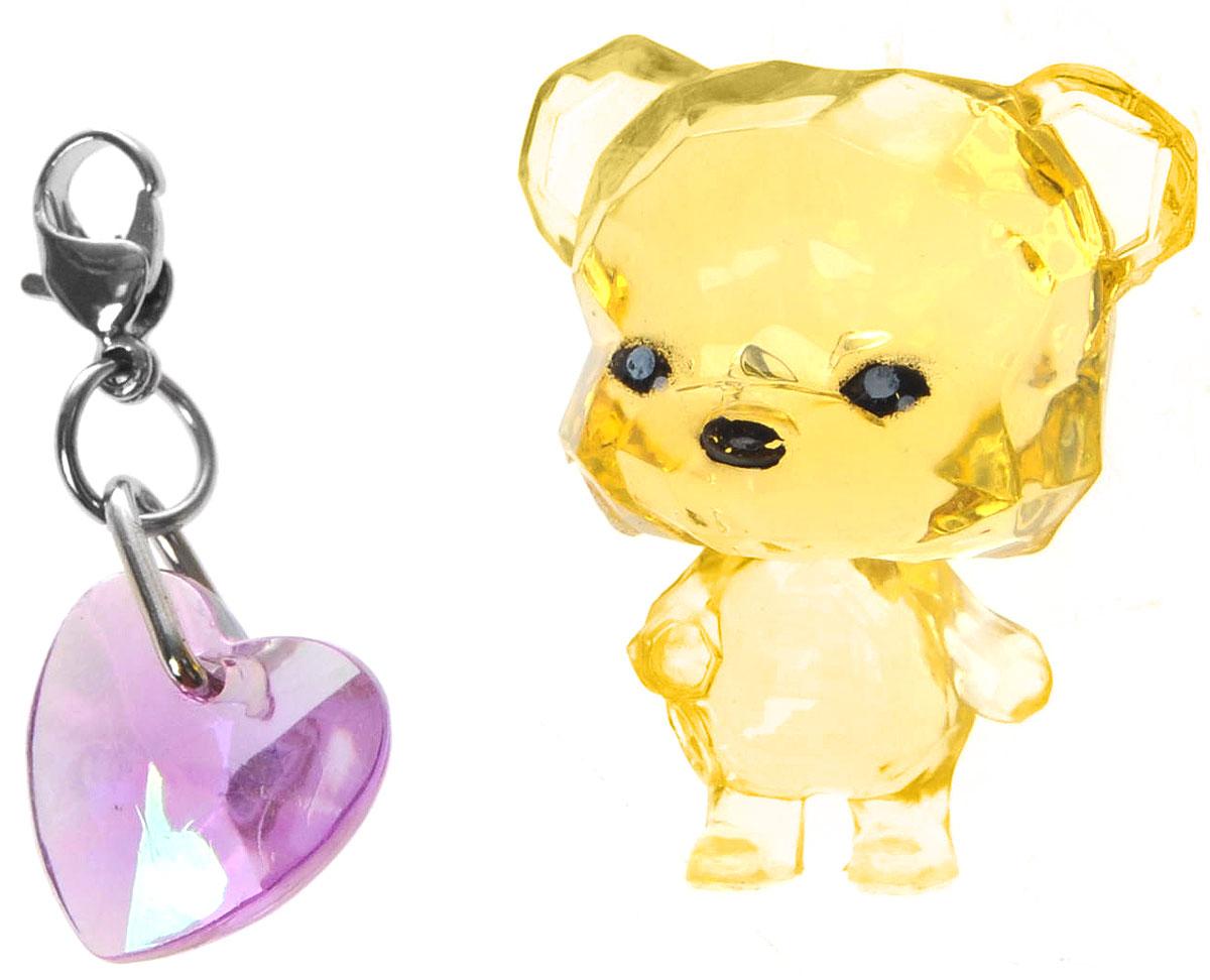 Crystal Surprise Фигурка Медвежонок Sparkles цвет желтый45704_ желтыйСамые искристые, самые сияющие малютки-зверюшки собрались здесь, чтобы принести вам удачу! Когда на небе встает солнце вдогонку тающей луне, появляются зверьки Crystal Surprise. Возьмите их в руку - и почувствуете, как они приносят удачу. У каждого зверька Crystal Surprise есть свое предназначение, каждый из них станет вашим талисманом. Носите, дарите их. Соберите их всех, чтобы умножить их магические способности! Предназначение фигурки Crystal Surprise Медвежонок Sparkles - придавать уверенность. Вы просто восхитительны! И вы, и медвежонок - вы сияете, как яркие мерцающие звезды. Возьмите его с собой! С медвежонком вы всегда будете чувствовать себя уверенно! В набор также входит подвеска на удачу!