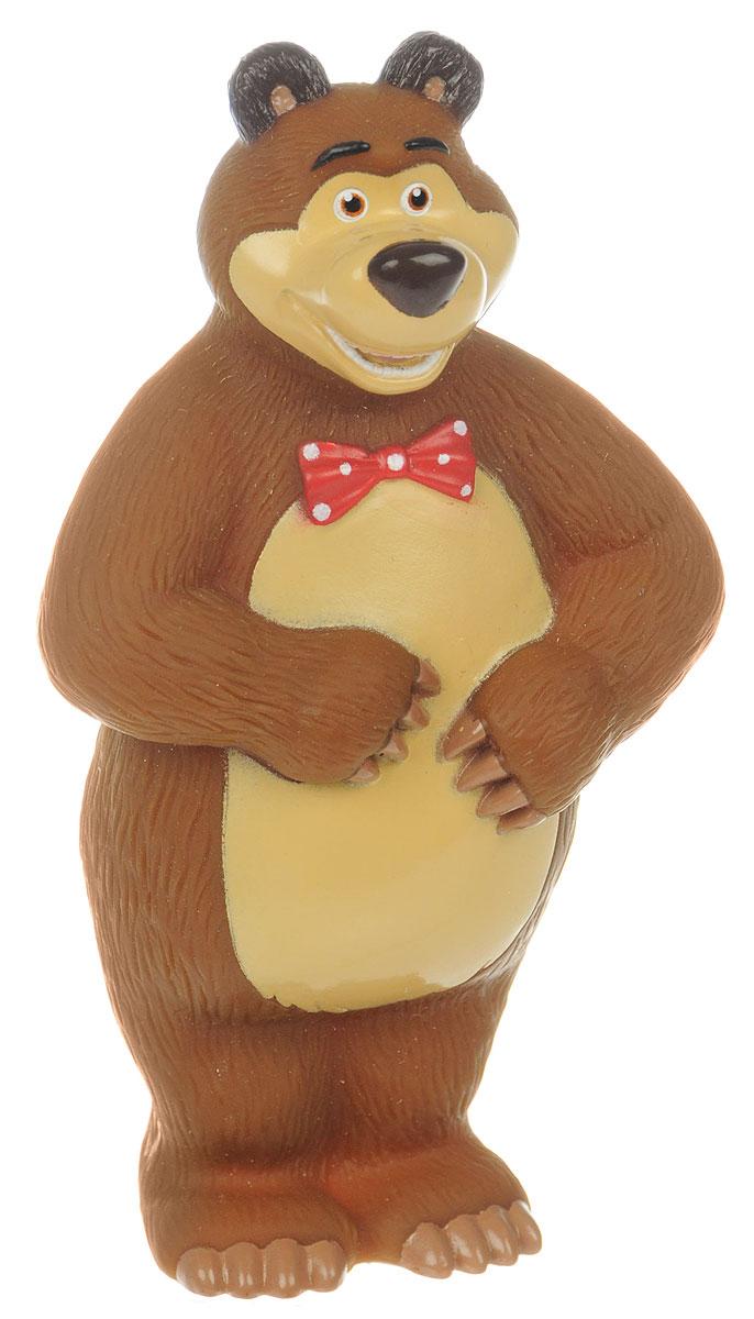 Играем вместе Игрушка для ванной Медведь3RИгрушка для ванной Играем вместе Медведь обязательно понравится вашему малышу и превратит купание в веселый и увлекательный процесс. Игрушка выполнена в виде героя мультсериала Маша и Медведь. При нажатии на игрушку раздается громкий писк. Игрушка способствует развитию внимательности, мелкой моторики рук, воображения, зрительного восприятия.