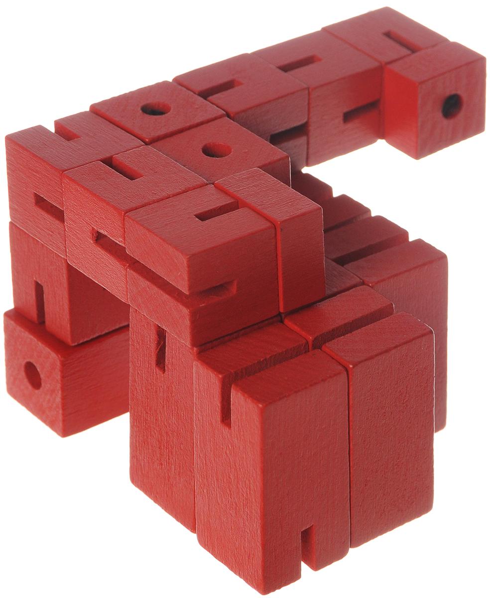 Professor Puzzle Головоломка Puzzleman5060036532321Головоломка Professor Puzzle Puzzleman - отличная деревянная головоломка! Задача игрока превратить куб в робота, а затем получившегося робота собрать обратно в куб! Какая из двух миссий покажется вам сложнее? Головоломка прекрасно подходит для детей старшего возраста, которые захотят создать собственного героя. Производитель специально оставил лицо робота пустым, чтобы игроки могли нарисовать его по своему желанию.