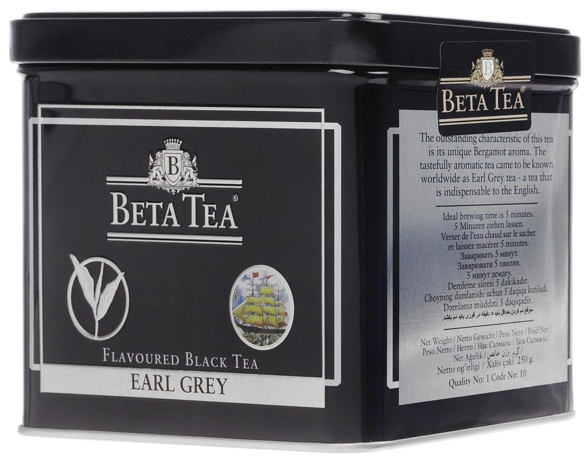 Beta Tea Earl Grey черный листовой чай, 250 г (жестяная банка)8690717005072Создатель этого чая – английский дипломат Чарльз Грей, который первым придумал его оригинальную рецептуру. Будучи в Китае, он смешал чай из районов Дарджелинг Кемун с бергамотом и получил новый неповторимый аромат. С тех пор этот напиток носит его имя и пользуется большой популярностью во всем мире.