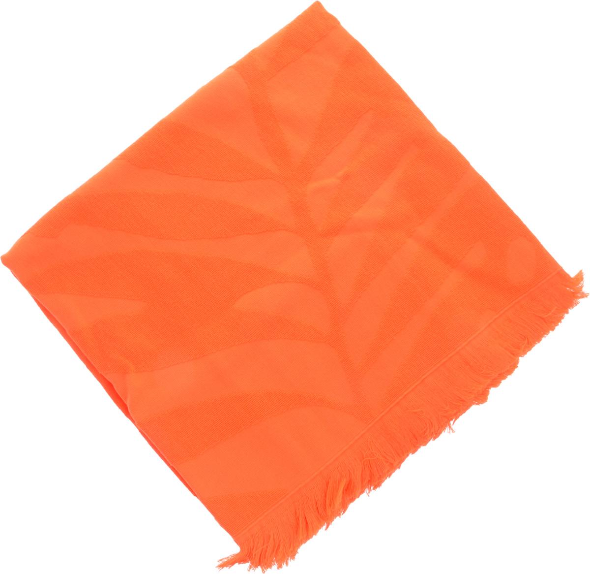Полотенце Issimo Home Nadia, цвет: оранжевый, 90 x 180 см4994Полотенце Issimo Home Nadia выполнено из 100% хлопка. Изделие отлично впитывает влагу, быстро сохнет, сохраняет яркость цвета и не теряет форму даже после многократных стирок. Полотенце очень практично и неприхотливо в уходе. Оно прекрасно дополнит интерьер ванной комнаты.
