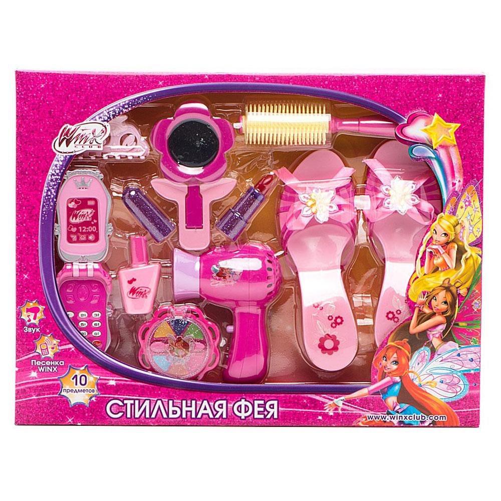 Играем вместе Игровой набор Стильная феяBE042-RУдивительный набор для юных модниц, который позволит стать настоящей принцессой. С его помощью ваш ребенок сможет создавать прически и открывать все секреты красоты.
