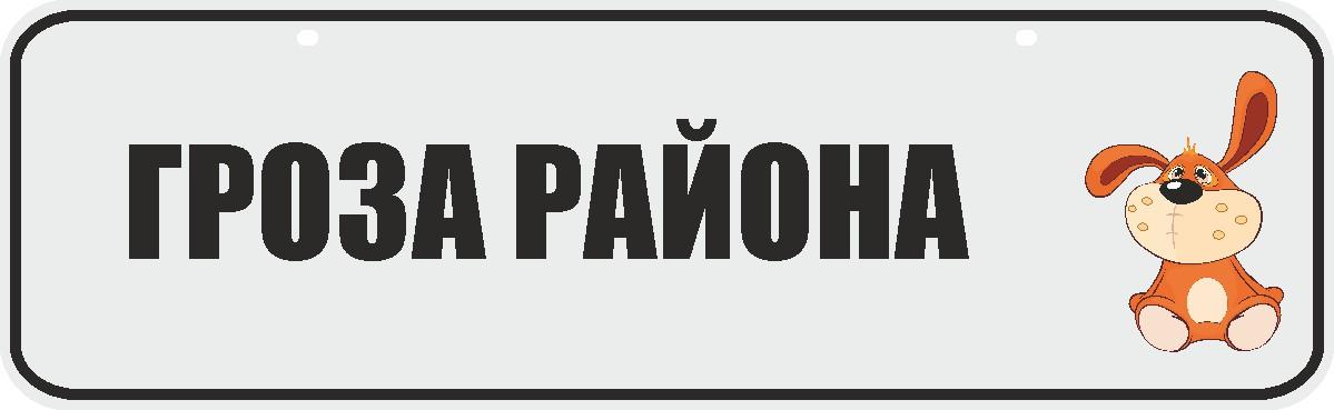 ФигураРоста Номер на коляску Гроза района