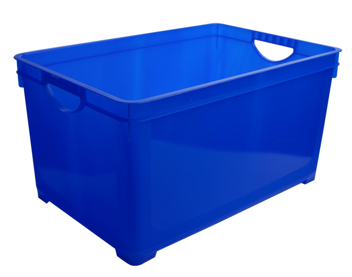 Ящик для хранения Blocker, цвет: синий, 261 х 180 х 150 ммBQ1005СНЛЕГОУниверсальный компактный ящик для хранения различных мелочей поможет правильно организовать пространство в доме и сэкономит место. В нем можно хранить аптечку, швейные принадлежности, детские игрушки, принадлежности для рисования и т.п.