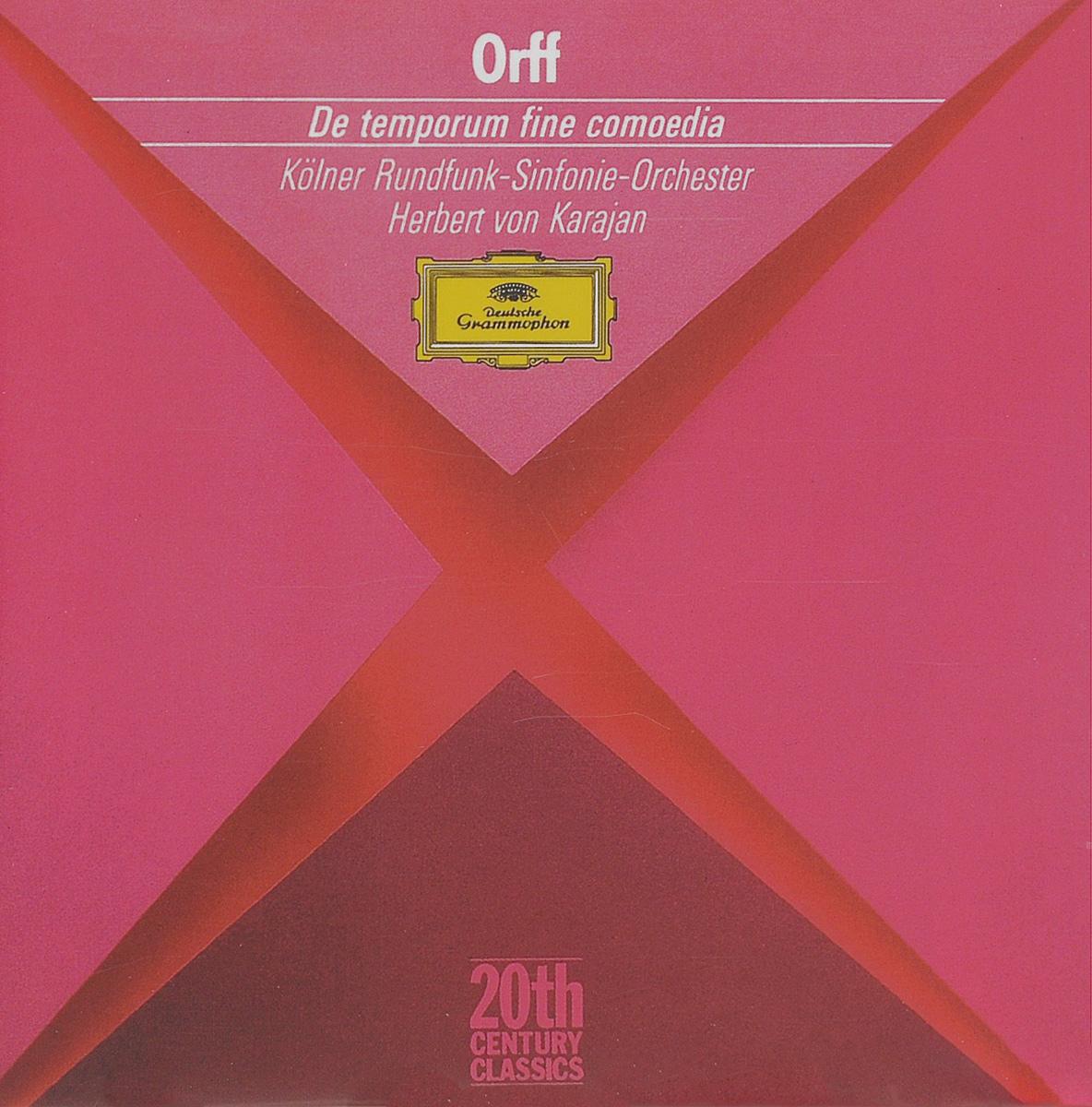 Herbert von Karajan. Orff. De Temporum Fine Comoedia