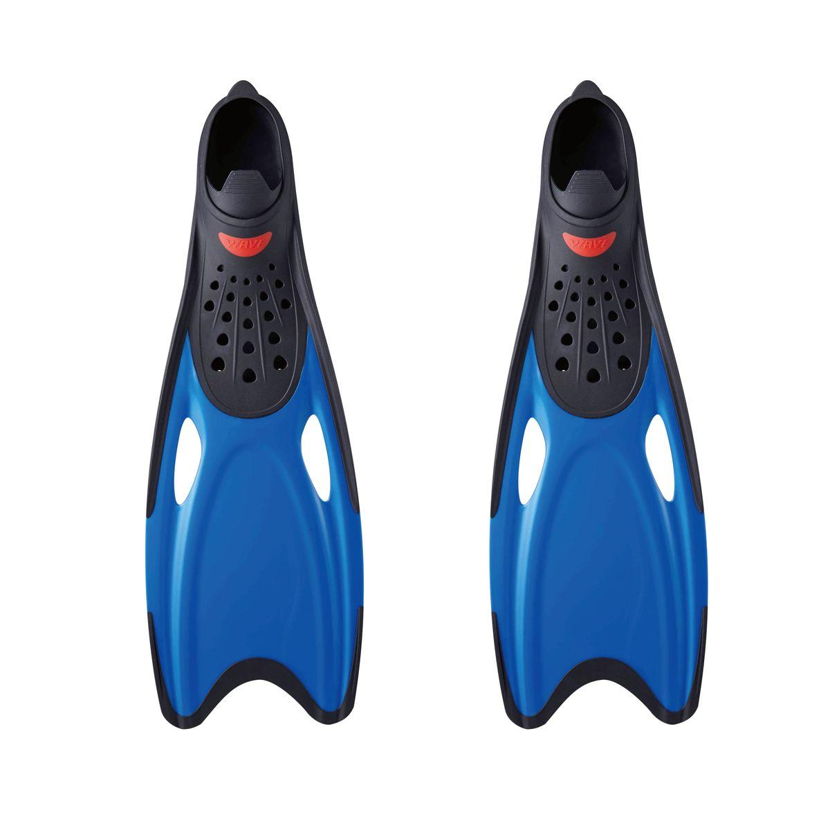 Ласты для плавания WAVE, цвет: синий. Размер 42-43. F-6871F-6871(42-43)Профессиональная линия ласт для плавания Ласты для плавания WAVE F-6871, цвет синий,размер 42-43 Ласты с закрытой пяткой: Для плавания и тренировок Сверхлегкий вес увеличивает эффективность гребка Дренажные отверстия уменьшают сопротивление Улучшеная форма калоши обеспечивает комфорт для любой ноги Выполнены из высококачественного термопластичного эластомера (ТРЕ) Срок службы гораздо дольше чем у резины Размер:XL(42-43) Характеристики:Тип:ласты Материал: термопластичный эластомер Размер:38-39(М);40-41(L);42-43(XL) Возраст:взрослый Вид спорта:водные виды спорта, дайвинг Страна изготовитель:Китай Упаковка:пакет с ручками Артикул:F-6871 Размер, мм:560x190x75 мм Размер упаковки:70.6x31.5x9.5 см Вес в упаковке,гр:845 гр