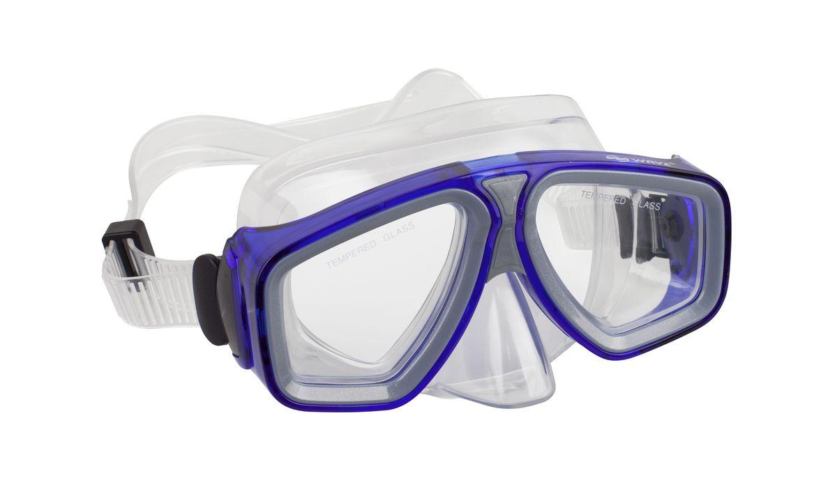 Маска для плавания WAVE, цвет: голубой. M-1314M-1314Маска для плавания WAVE M-1314, цвет голубой Маска: низкопрофильный дизайн и широкий угол обзора практически на 180 градусов (увеличение периферического зрения) Линзы из закаленного стекла Двухслойный обтюратор маски из гипоалергенного мягкого пластика, припятствует проникновению воды внутрь маски Регулируемый пластиковый ремешок, препятствует скольжению Материал: пластик (PVC) Характеристики: Тип: маска для плавания Вид спорта: водные виды спорта, дайвинг Материал линз: закаленное стекло Возраст: взрослые Страна изготовитель: Китай Упаковка: Блистер Артикул: MS-1314 Вес в упаковке, гр:238 гр Размер упаковки,см:24.5x10x19 см Гарантия: 36 месяцев Материал: поликарбонат, пластик, стекло Ширина оправы маски:15.4x7.5x9,0 см Размер упаковки, см:24.5x10x19 см Изготовитель: Китай Артикул:- MS-1314