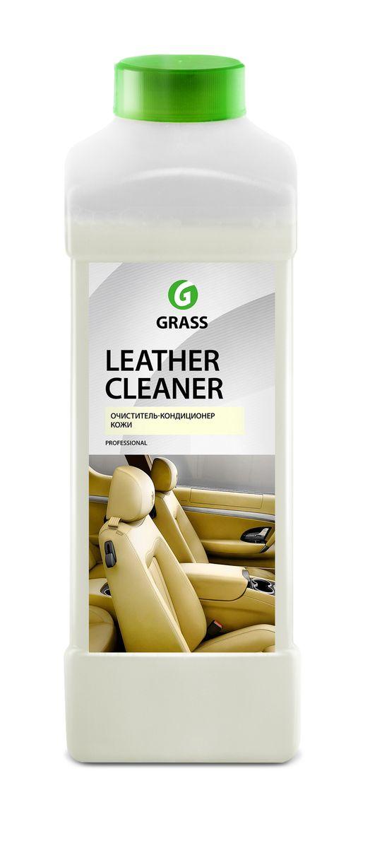 Очиститель-кондиционер кожи Grass Leather Cleaner, 1 л131100Очиститель Grass Leather Cleaner предназначен для очистки изделий из натуральной и искусственной кожи любых оттенков. Придает блеск, восстанавливает структуру. Насыщенный глицерином крем увлажняет кожу, предохраняя от пересыхания и растрескивания. Защищает от ультрафиолетовых лучей и преждевременного старения. Имеет приятный аромат. Быстро впитывается, не оставляя разводов и пятен. Подходит для чистки и обновления салона автомобиля, а также в быту для кожаной мебели, обуви, одежды и сумок. Товар сертифицирован.