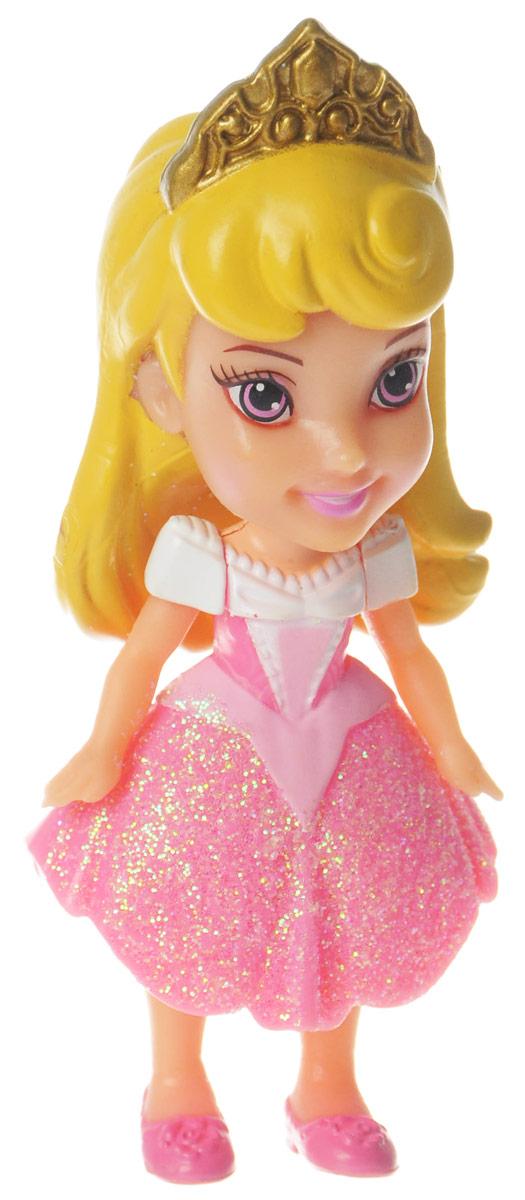 Disney Princess Мини-кукла Малышка Аврора758960_AuroraМини-кукла Disney Princess Малышка Аврора непременно понравится вашей дочурке. Кукла в виде прекрасной принцессы полностью выполнена из пластика. На Авроре розовое платье с блестками, на ножках - туфельки, а на голове у малышки - тиара. Ручки, ножки и голова у куколки подвижные. Такая куколка очарует вас и вашу дочурку с первого взгляда! Ваша малышка с удовольствием будет играть с принцессой, проигрывая сюжеты из мультфильма или придумывая различные истории. Порадуйте свою дочурку таким замечательным подарком!