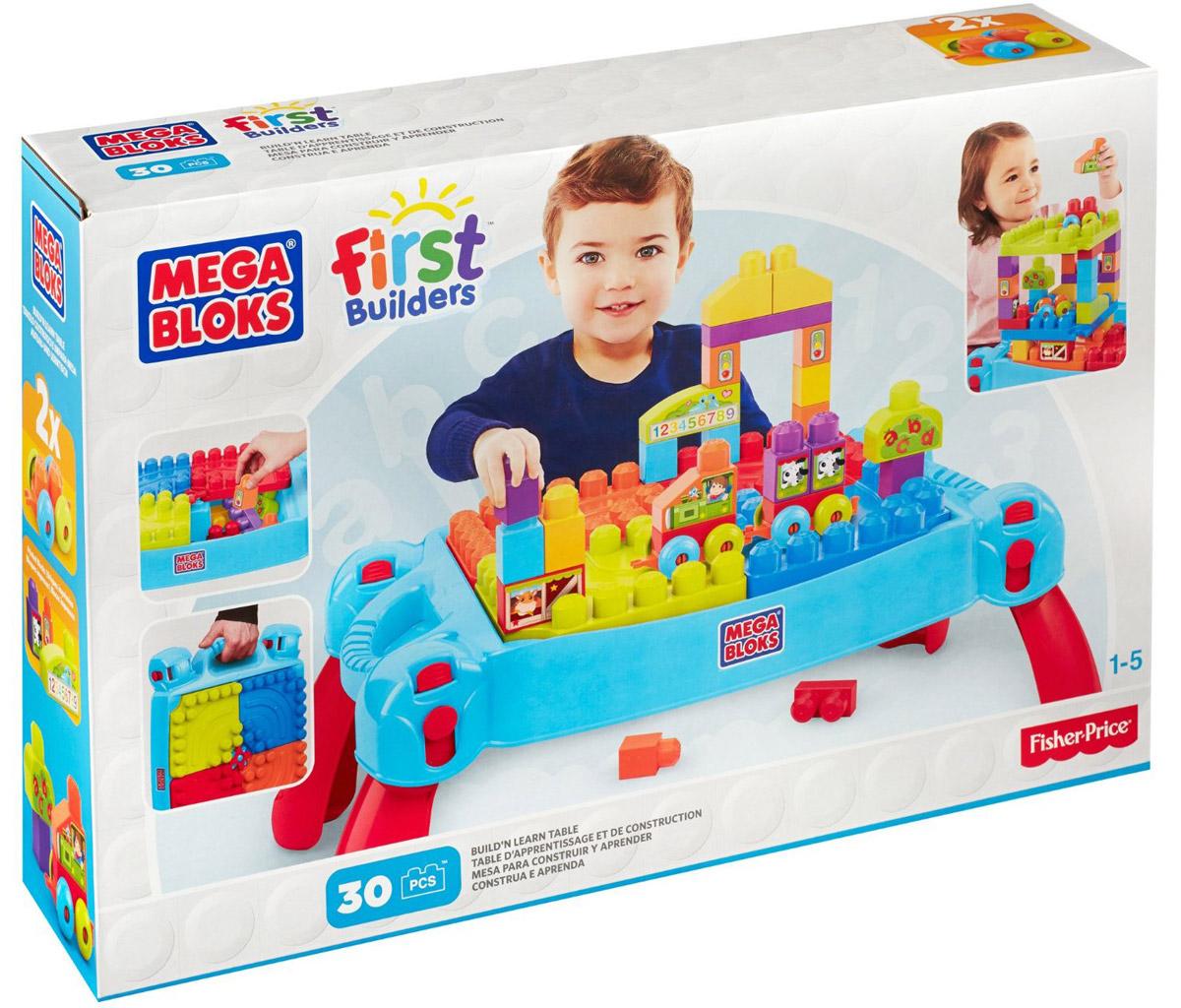 Mega Bloks First Builders Конструктор Строим и учимсяCNM42Учитесь, играйте и стройте с конструктором Mega Bloks First Builders Строим и учимся! Конструктор представляет собой удобный и практичный столик, который станет местом, где ваш ребенок будет учиться с помощью игры и интерактивных открытий. В набор входят специальные кубики First Builders, из которых ваш ребенок сможет построить все что угодно прямо на столе. Имеет встроенное хранилище для кубиков. Играя с конструктором, малыш отлично разовьет мелкую моторику рук, координацию движений, усидчивость, воображение и фантазию, пространственное мышление, а также познакомится с такими понятиями, как цвет, форма и размер предмета.