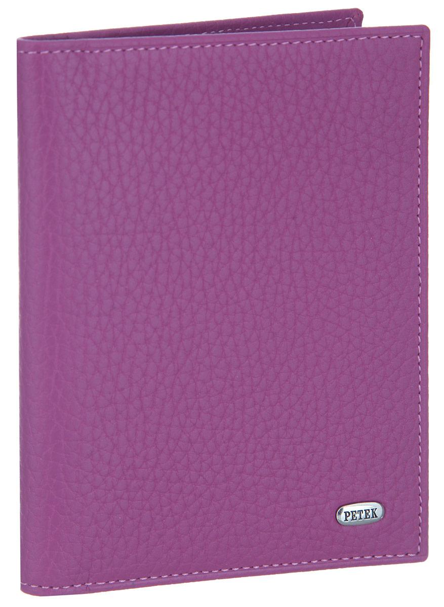 Обложка для автодокументов женская Petek 1855, цвет: пурпурный. 584.46D.16584.46D.16 PurpleЖенская обложка для автодокументов Petek 1855 выполнена из высококачественной натуральной кожи с фактурным тиснением. На внутреннем развороте - съемный блок из шести прозрачных файлов из мягкого пластика, один из которых формата А5, два боковых кармана, один из которых сетчатый, и четыре прорезных кармашка для визиток и пластиковых карт. Обложка не только поможет сохранить внешний вид ваших документов и защитит их от повреждений, но и станет стильным аксессуаром, который подчеркнет ваш неповторимый стиль.