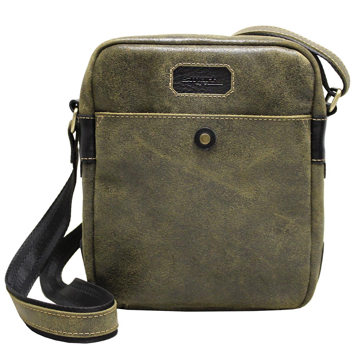 Сумка-планшет мужская Edmins Smart by Edmins, цвет: хаки. 14С656КОЗ14С656КОЗМужская сумка Edmins имеет одно отделение, закрывающееся на застежку-молнию. Оснащена регулируемым плечевым ремнем. C тыльной стороны сумки расположен прорезной карман на застежке-молнии. С передней стороны имеется накладной карман.