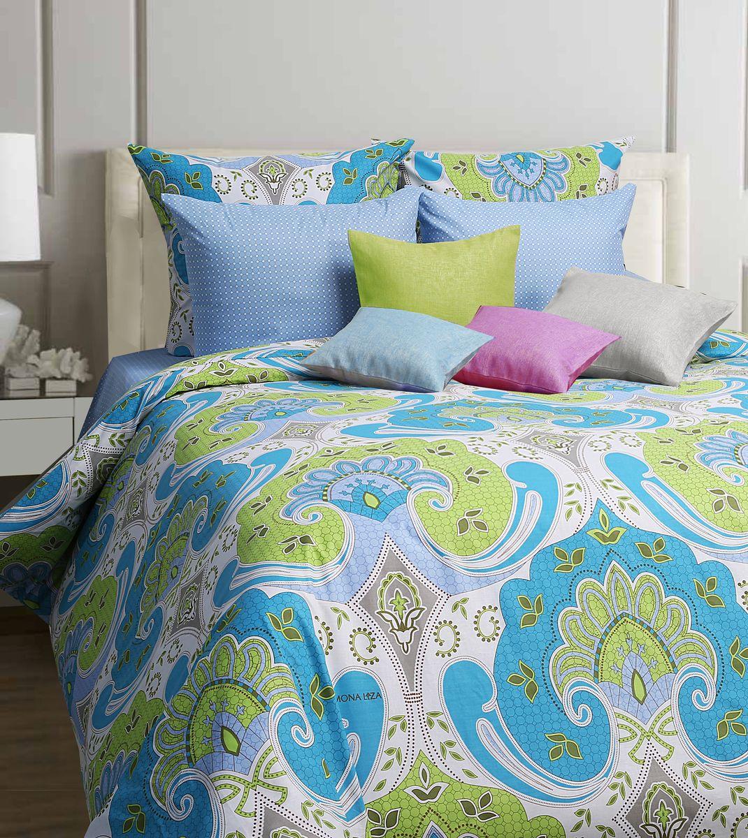 Комплект белья Mona Liza Marakesh, 1,5-спальное, наволочки 70x70, цвет: голубой551114/13Коллекция постельного белья MONA LIZA Classic поражает многообразием дизайнов. Среди них легко подобрать необходимый рисунок, который создаст в доме уют. Комплекты выполнены из бязи 100 % хлопка.