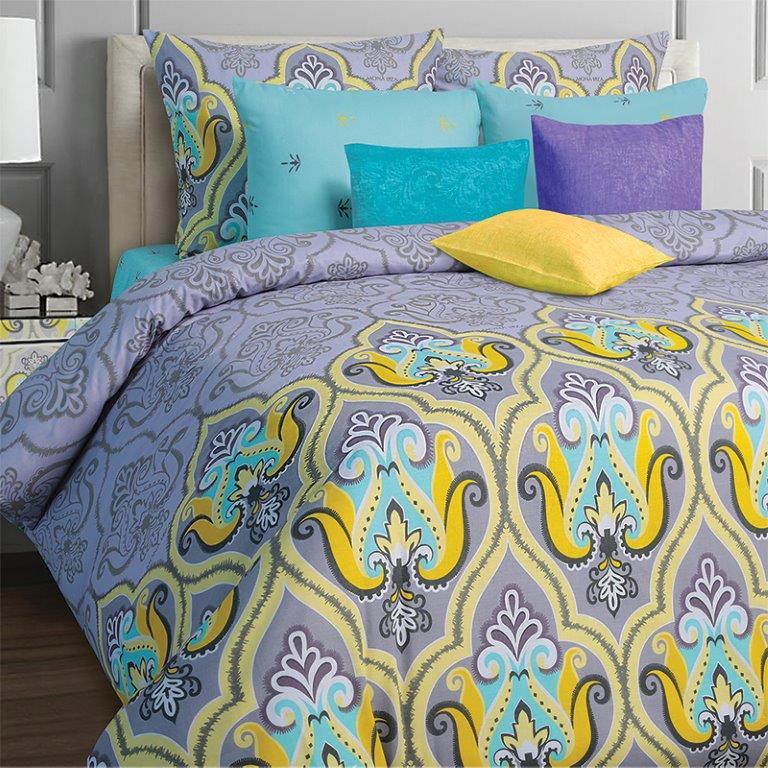 Комплект белья Mona Liza Darina, 1,5-спальное, наволочки 70x70, цвет: сиреневый551114/35Коллекция постельного белья MONA LIZA Classic поражает многообразием дизайнов. Среди них легко подобрать необходимый рисунок, который создаст в доме уют. Комплекты выполнены из бязи 100 % хлопка.