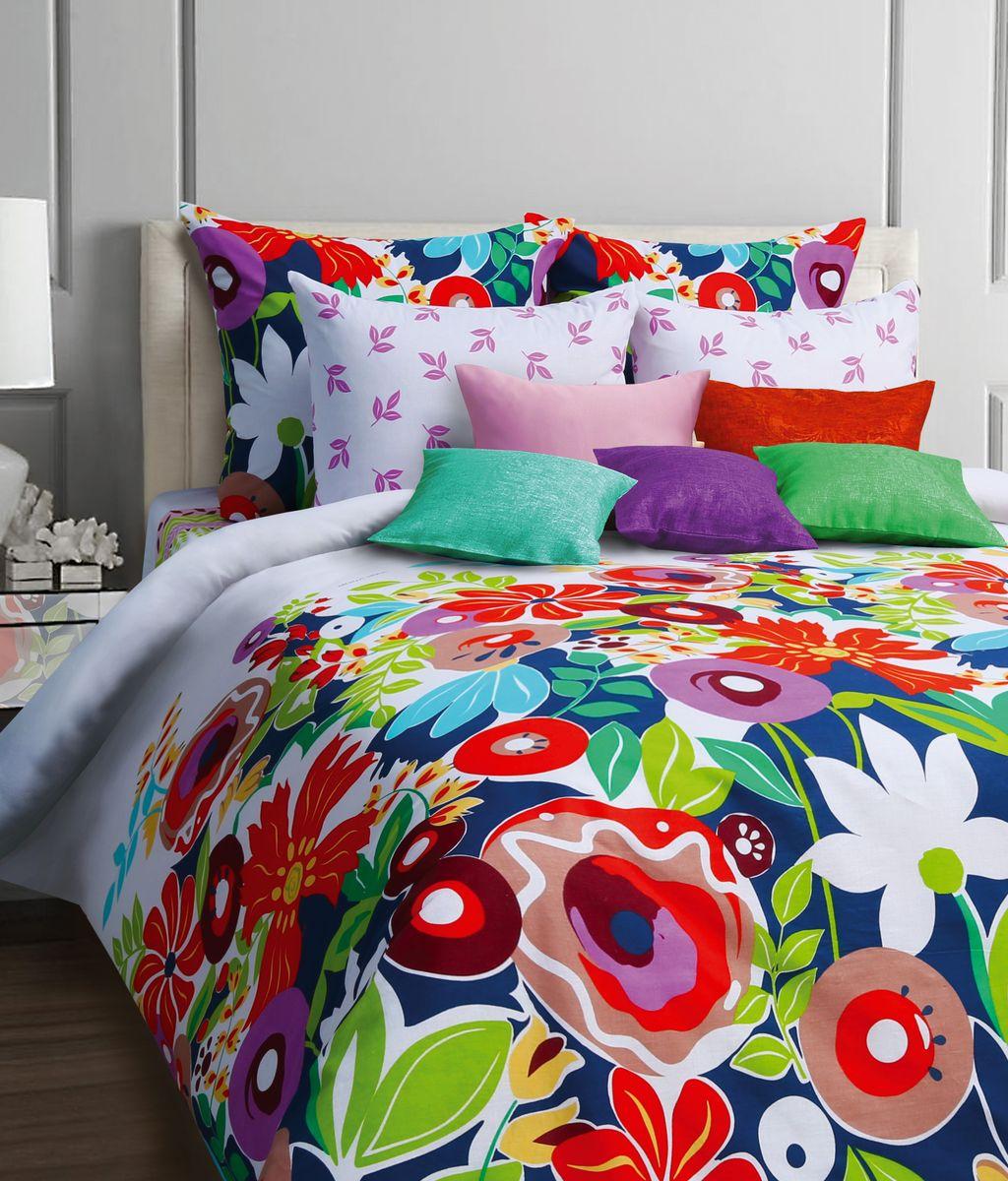 Комплект белья Mona Liza Pampiny, 1,5-спальное, наволочки 50x70551116/28Комплект постельного белья Mona Liza Pampiny, выполненный из бязи (100% хлопок), состоит из пододеяльника, простыни и двух наволочек. Изделия оформлены оригинальным рисунком. Пододеяльник на пуговицах. Бязь - ткань полотняного переплетения с незначительной сминаемостью, хорошо сохраняющая цвет при стирке, легкая, с прекрасными гигиеническими показателями. Такой комплект подойдет для любого стилевого и цветового решения интерьера, а также создаст в доме уют.