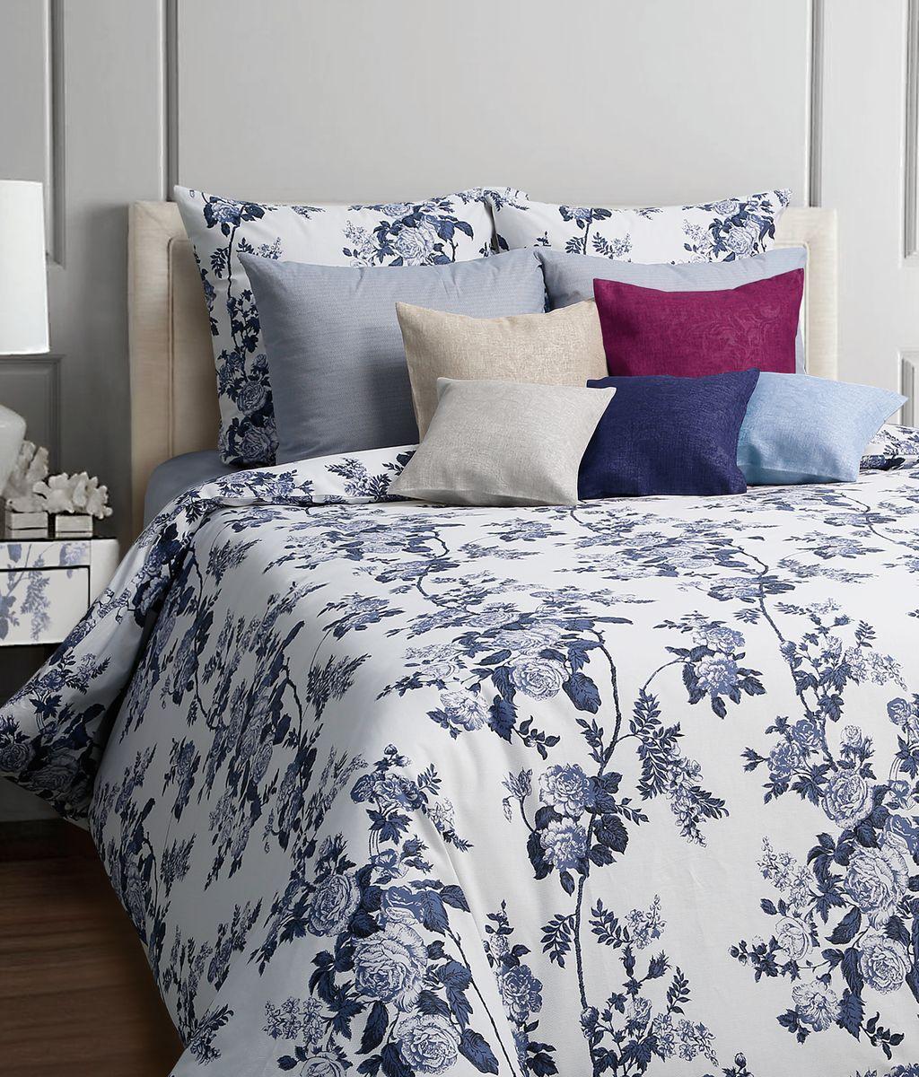 Комплект белья Mona Liza Nordy, 2-спальное, наволочки 50x70, цвет: синий552205/529Коллекция постельного белья MONA LIZA Classic поражает многообразием дизайнов. Среди них легко подобрать необходимый рисунок, который создаст в доме уют. Комплекты выполнены из бязи 100 % хлопка.
