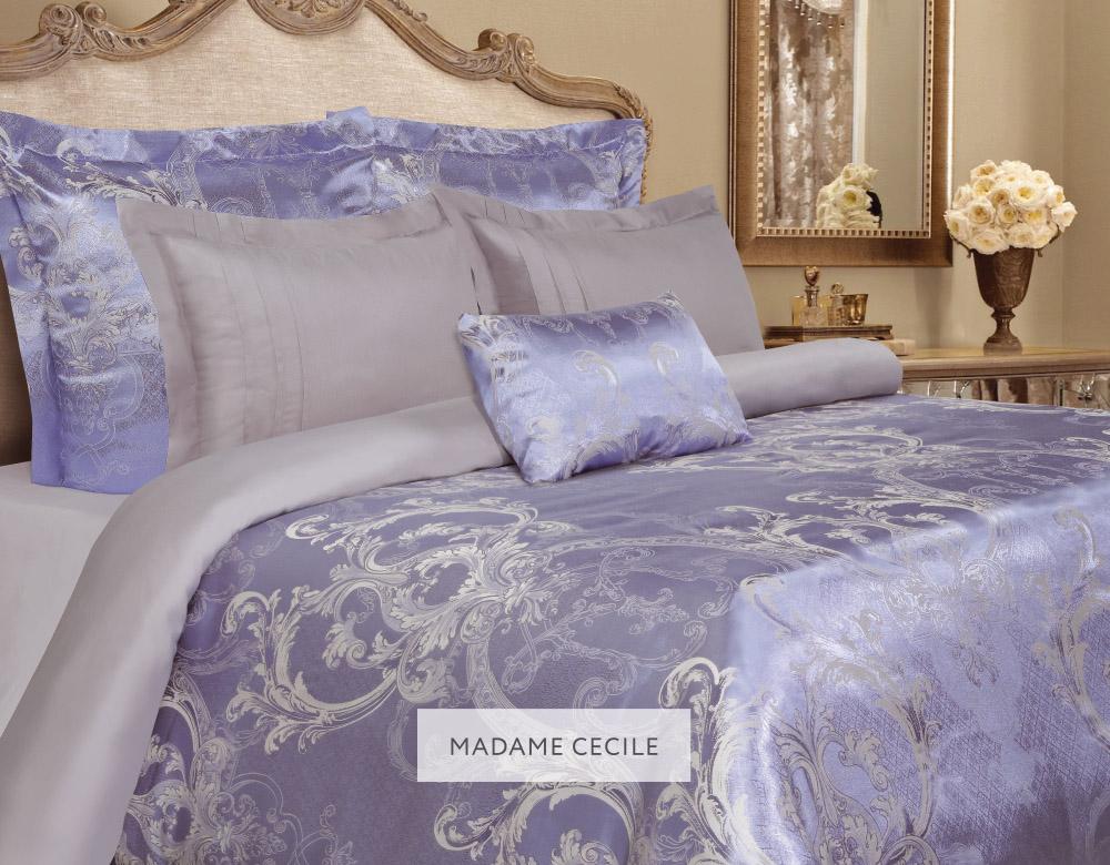 Комплект белья Mona Liza Madam Cecile, евро, наволочки 50x70, цвет: синий5539/15Комплекты постельного белья MONA LIZA Elite выполнены из комбинации сатина и натуральной вискозы. Элегантный стиль, несравненное качество, изысканный рельефный рисунок и благородные приятные оттенки.