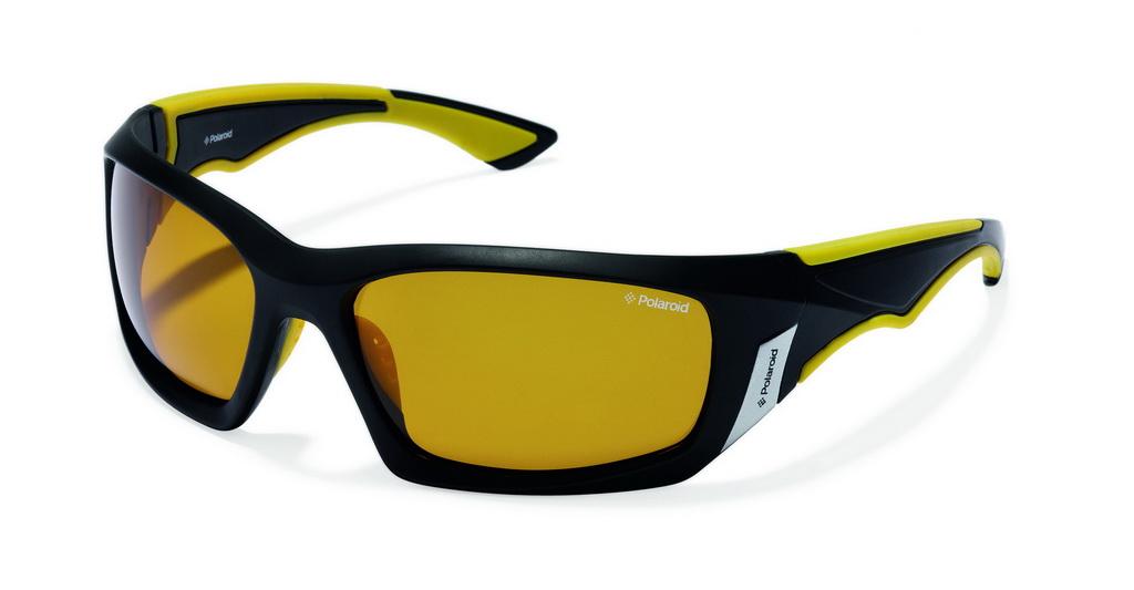 Очки поляризационные Polaroid, цвет: черный, желтый. P7324CP7324CПри отражении солнечного света от горизонтальной поверхности – такой, как дорога или вода – часто получается сконцентрированный горизонтально поляризованный свет. Такое явление называется блик. Вертикально поляризованный свет полезен для человеческого глаза. Блики же могут существенно влиять на зрение: ослепляют, ухудшают зрение, снижают его остроту и вызывают раздражение. Поляризованные солнцезащитные очки Polaroid блокируют блики и обеспечивают защиту от ультрафиолета, благодаря им вы сможете видеть лучше и в то же время защищать глаза от вредного излучения. В них используются эксклюзивные линзы UltraSight™, произведенные с использованием инновационной технологии Thermofusion™. Эти высококачественные линзы состоят из девяти слоев для обеспечения полной защиты ваших глаз и возможности видеть все без искажений. Кроме того, это эффектный аксессуар, который наверняка станет изюминкой  вашего индивидуального стиля. Оправа не только красивая, но и прочная, а линзы со временем...