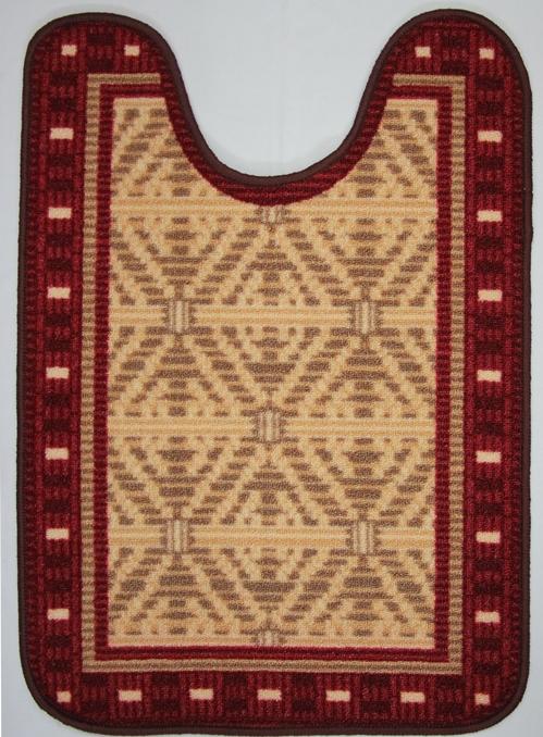 Коврик для ванной MAC Carpet Розетта, цвет: красный, 57 х 80 см14959/крКоврики из нейлона на резиновой основе с успехом применяются в ванных комнатах ,где необходима защита от влаги.Нейлон обеспечивает повышенную износостойкость и простоту в уходе.