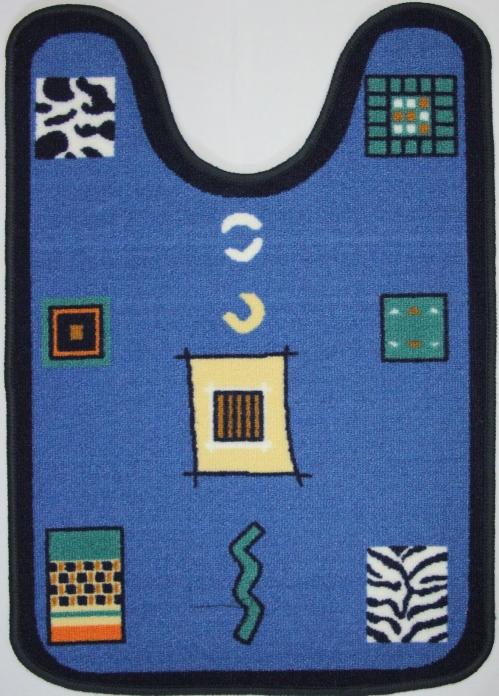 Коврик для ванной MAC Carpet Розетта, цвет: синий, 57 х 80 см14959/синКоврики из нейлона на резиновой основе с успехом применяются в ванных комнатах ,где необходима защита от влаги.Нейлон обеспечивает повышенную износостойкость и простоту в уходе.