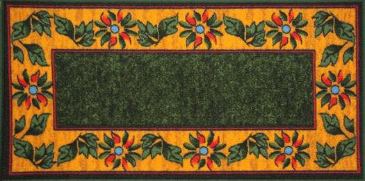 Коврик для ванной MAC Carpet Розетта, цвет: зеленый, 57 х 115 см21334/зелКоврики из нейлона на резиновой основе с успехом могут применяться как в ванных комнатах, так и во всех других помещениях, где необходима защита от влаги. Нейлон обеспечивает повышенную износостойкость и простоту в уходе.