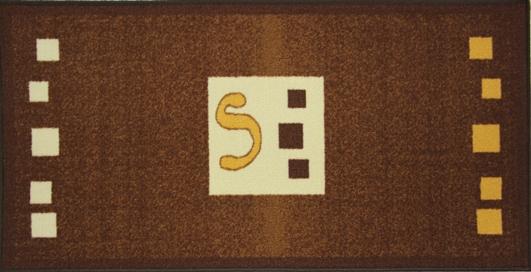 Коврик для ванной MAC Carpet Розетта, цвет: коричневый, 57 х 115 см21334/корКоврики из нейлона на резиновой основе с успехом могут применяться как в ванных комнатах ,так и во всех других помещениях,где необходима защита от влаги.Нейлон обеспечивает повышенную износостойкость и простоту в уходе.