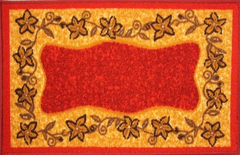 Коврик для ванной MAC Carpet Розетта, цвет: красный, 57 х 115 см21334/крКоврики из нейлона на резиновой основе с успехом могут применяться как в ванных комнатах ,так и во всех других помещениях,где необходима защита от влаги.Нейлон обеспечивает повышенную износостойкость и простоту в уходе.