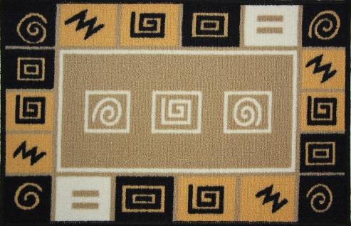 Коврик для ванной MAC Carpet Розетта, цвет: коричнево-красный, 44 х 70 см21404/абстрКоврики из нейлона на резиновой основе с успехом могут применяться как в ванных комнатах ,так и во всех других помещениях,где необходима защита от влаги.Нейлон обеспечивает повышенную износостойкость и простоту в уходе.