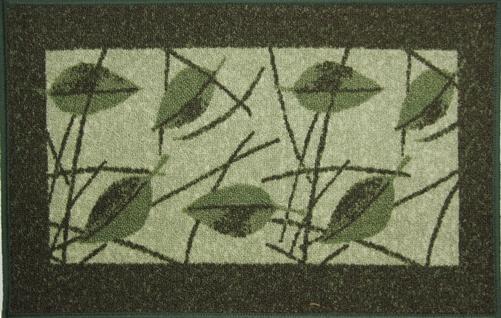 Коврик для ванной MAC Carpet Розетта, цвет: зеленый, 44 х 70 см21404/зелКоврики из нейлона на резиновой основе с успехом могут применяться как в ванных комнатах ,так и во всех других помещениях,где необходима защита от влаги.Нейлон обеспечивает повышенную износостойкость и простоту в уходе.