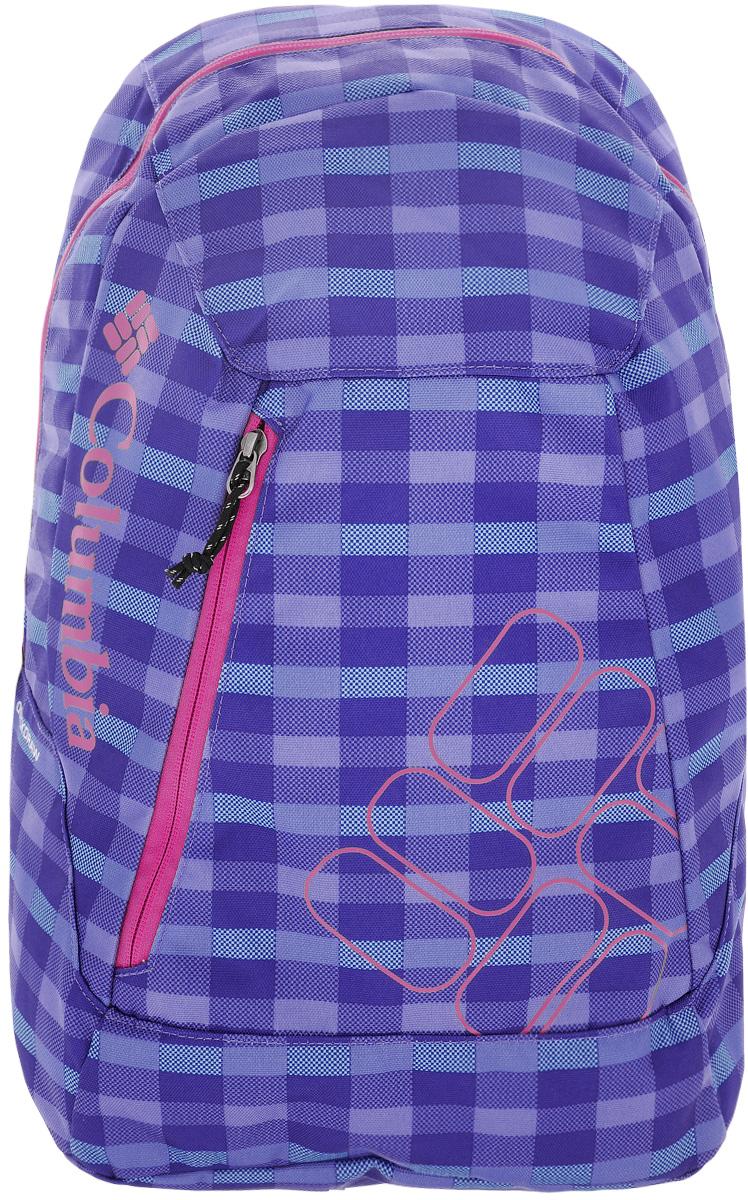 Рюкзак городской Columbia Quickdraw Daypack, цвет: сиреневый, зеленый. 1587591-548