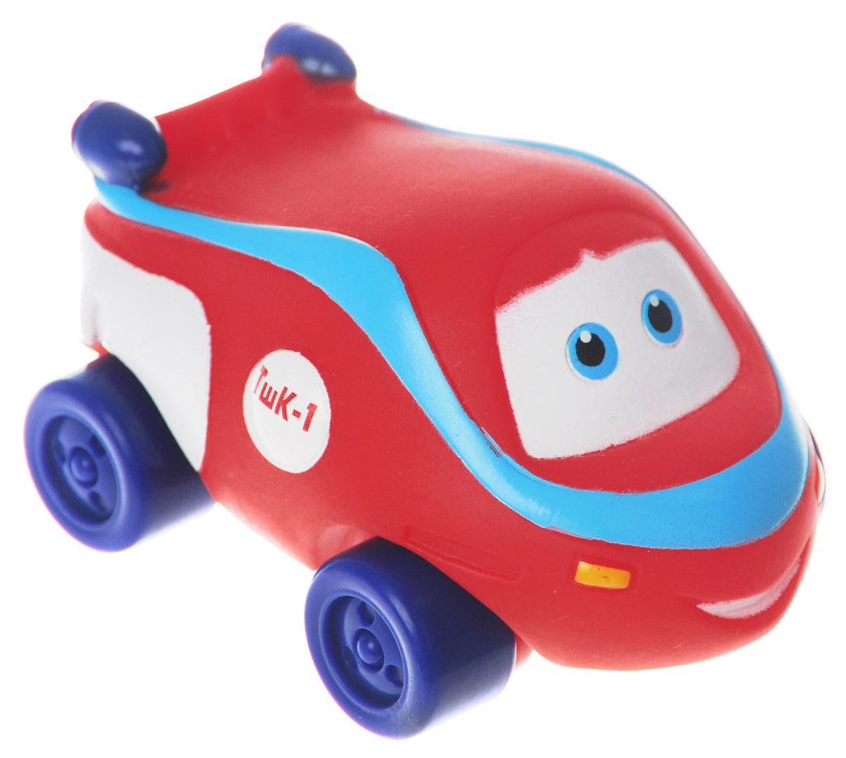 Играем вместе Игрушка для ванной Паровозик Тишка5R-WLSИгрушка для ванной Играем вместе Паровозик Тишка светится и поет веселую песенку из одноименного мультфильма. Выполнена игрушка очень тщательно и качественно. Герметичный корпус защищает механизм и элементы питания от попадания воды, поэтому ребенок может смело опускать задорную игрушку в воду. Колеса паровозика крутятся. Сделайте вашему малышу такой замечательный подарок!
