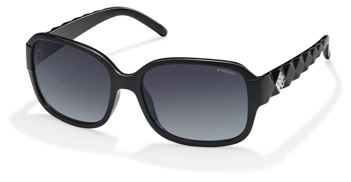 Очки женские поляризационные Polaroid, цвет: черный. PLD5004.S.D28.WJPLD5004.S.D28.WJПри отражении солнечного света от горизонтальной поверхности – такой, как дорога или вода – часто получается сконцентрированный горизонтально поляризованный свет. Такое явление называется блик. Вертикально поляризованный свет полезен для человеческого глаза. Блики же могут существенно влиять на зрение: ослепляют, ухудшают зрение, снижают его остроту и вызывают раздражение. Поляризованные солнцезащитные очки Polaroid блокируют блики и обеспечивают защиту от ультрафиолета, благодаря им вы сможете видеть лучше и в то же время защищать глаза от вредного излучения. В них используются эксклюзивные линзы UltraSight™, произведенные с использованием инновационной технологии Thermofusion™. Эти высококачественные линзы состоят из девяти слоев для обеспечения полной защиты ваших глаз и возможности видеть все без искажений. Кроме того, это эффектный аксессуар, который наверняка станет изюминкой  вашего индивидуального стиля. Оправа не только красивая, но и прочная, а линзы со временем...