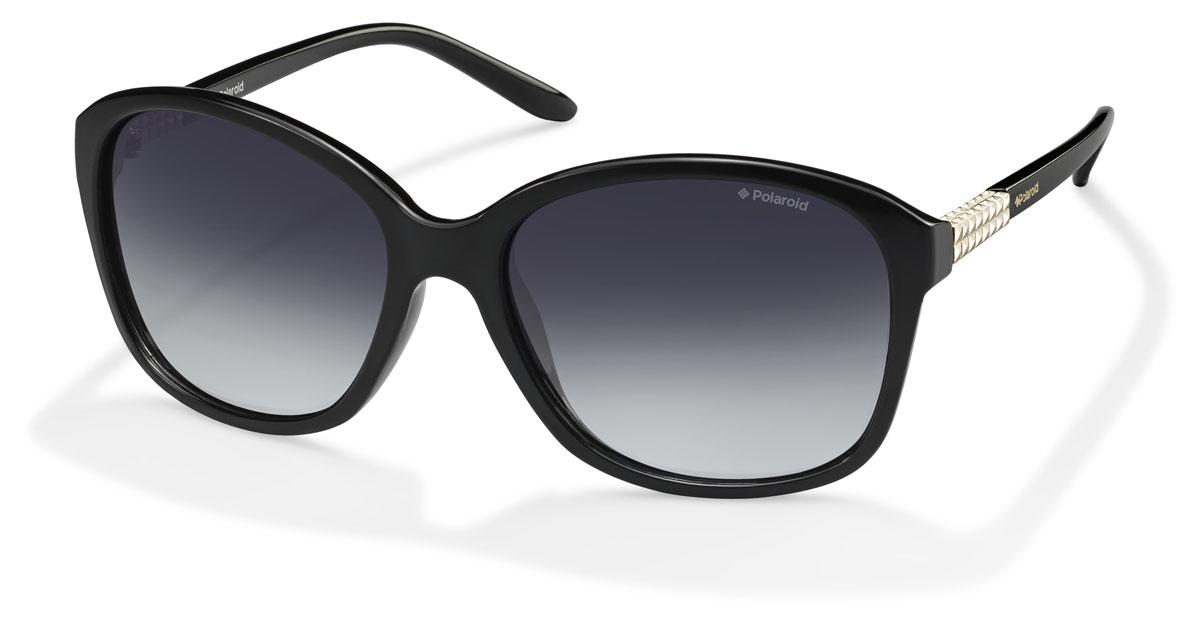 Очки женские поляризационные Polaroid, цвет: черный. PLD5010.S.D28.WJPLD5010.S.D28.WJПри отражении солнечного света от горизонтальной поверхности – такой, как дорога или вода – часто получается сконцентрированный горизонтально поляризованный свет. Такое явление называется блик. Вертикально поляризованный свет полезен для человеческого глаза. Блики же могут существенно влиять на зрение: ослепляют, ухудшают зрение, снижают его остроту и вызывают раздражение. Поляризованные солнцезащитные очки Polaroid блокируют блики и обеспечивают защиту от ультрафиолета, благодаря им вы сможете видеть лучше и в то же время защищать глаза от вредного излучения. В них используются эксклюзивные линзы UltraSight™, произведенные с использованием инновационной технологии Thermofusion™. Эти высококачественные линзы состоят из девяти слоев для обеспечения полной защиты ваших глаз и возможности видеть все без искажений. Кроме того, это эффектный аксессуар, который наверняка станет изюминкой  вашего индивидуального стиля. Оправа не только красивая, но и прочная, а линзы со временем...